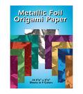 Metallic Foil Origami Paper-5-7/8\u0022X5-7/8\u0022 18/Pkg