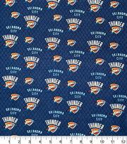 Oklahoma City Thunder Cotton Fabric-Net, , hi-res