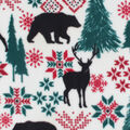 Anti-Pill Plush Fabric-Bears & Moose Fair Isle