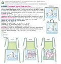 Kwik Sew Pattern K3992 Children\u0027s Apron & Tote
