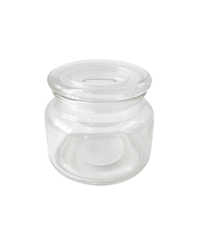 """Idea-Ology Mini Glass Mason Jars 3//Pkg-Clear 4/""""X2.25/"""""""