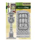 Penny Black Cling Rubber Stamp 4\u0022X6\u0022-Winter Illumination