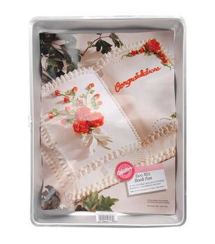 Wilton Aluminum Novelty Cake Pan-Book
