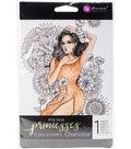 Prima Princesses Cling Stamp 5\u0022X7\u0022-Charlotte
