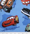 Disney Cars Cotton Fabric -Toss
