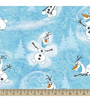 Disney Frozen Print Fabric-Olaf's Winter, , hi-res