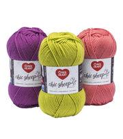 Red Heart Chic Sheep Merino Wool Yarn, , hi-res