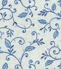Home Decor 8\u0022x8\u0022 Fabric Swatch-Dena Kalia Embroidery Luna