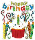 Jolee\u0027s Boutique Dimensional Stickers-Happy Birthday