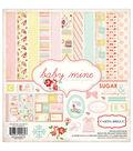 Carta Bella Collection Kit 12\u0022X12\u0022-Baby Mine/Girl