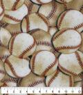 Anti-Pill Plush Fleece Fabric-Packed Baseballs