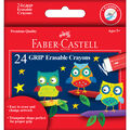 Faber-Castell GRIP Erasable Crayons