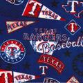 Texas Rangers Fleece Fabric-Vintage