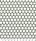 Quilter\u0027s Showcase Cotton Fabric 44\u0022-Dots Hunter