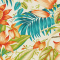 Tommy Bahama Outdoor Fabric 54\u0022- Botanical Glow Tiger Lily