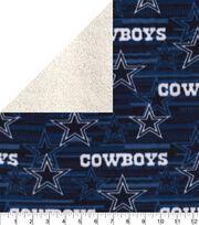 Dallas Cowboys Fleece Fabric-Sherpa, , hi-res