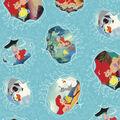 Disney Ariel Cotton Fabric -Movie Posters