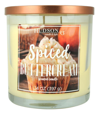 Hudson 43 Candle & Light 14 oz. Spiced Buttercream Scented Jar Candle