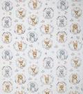 Nursery Warm Fabric-Hazel Portrait Friends Butter