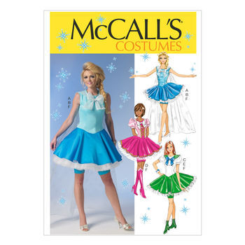 McCall's Pattern M7071-Jacket, Blouse and Skirt with Ruffles