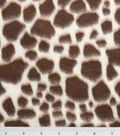 Anti-Pill Fleece Fabric 59\u0022-Giraffe