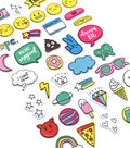 American Crafts Hello Dreamer 42 pk Puffy Stickers