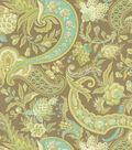 Waverly Lightweight Decor Fabric 54\u0022-Rhapsody/Mineral