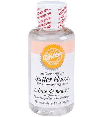 Wilton No Color Butter Flavor-2 Ounces