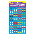Trend Enterprises Inc. Flags of the World superShapes Stickers, 800/Pack