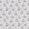 Snuggle Flannel Fabric-Baby Foxes & Floral