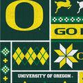 Oregon Ducks Fleece Fabric-Sweater