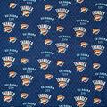 Oklahoma City Thunder Cotton Fabric-Net