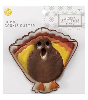 Wilton Simply Autumn Jumbo Cookie Cutter-Turkey