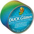 ShurTech 1.88\u0022x15yds Glitter With Sparkle Duck Tape-Rainbow Ombre