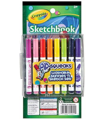 Crayola Pip-Squeaks Skinnies 'n Color Set