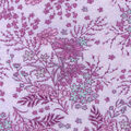 Luxe Flannel Fabric -Lavender  Floral