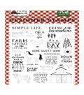 Echo Park Paper Co. Down on the Farm 25 pk Photopolymer Designer Stamps