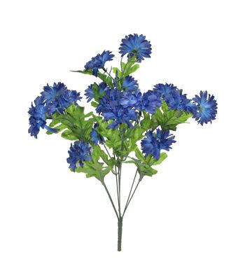 Fresh Picked Spring 19'' Cornflower Bush-Blue