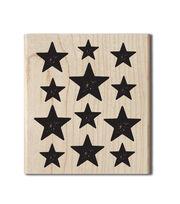 Hampton Art Cam & Chloe Mounted Stamp-Star Background, , hi-res