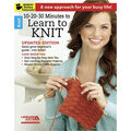 10-20-30 Minutes To Learn To Knit Book