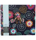 Park Lane 12\u0027\u0027x12\u0027\u0027 Scrapbook Album-Blue Floral