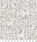 Waverly Upholstery Décor Fabric-Forest Friends Mineral
