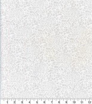 Keepsake Calico Cotton Fabric-Crackle Texture White