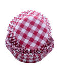 Land of the Free Baking Patriotic 75 pk Cupcake Liners-Red Gingham