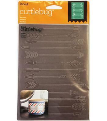 Cricut Cuttlebug Arrows 5x7 Embossing Folder