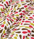 Robert Allen @ Home Print Fabric 55\u0022-Many Petals Poppy