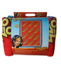 No Sew Fleece Throw 48\u0022-Wonder Woman