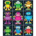 Carson Dellosa Robots Prize Pack Stickers 12 Packs
