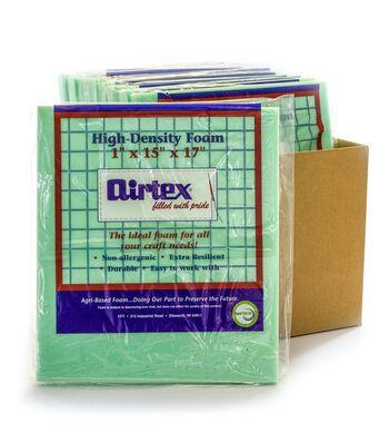 """Airtex Case Of 12 High Density Chair Pad-15""""x17""""x1"""""""
