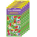 Gnome Sweet Gnome Sparkle Stickers-Large 18 Per Pack, 6 Packs